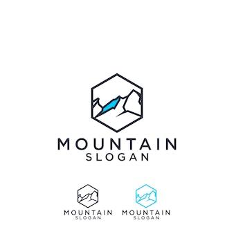 Logo della linea minimalis mountain