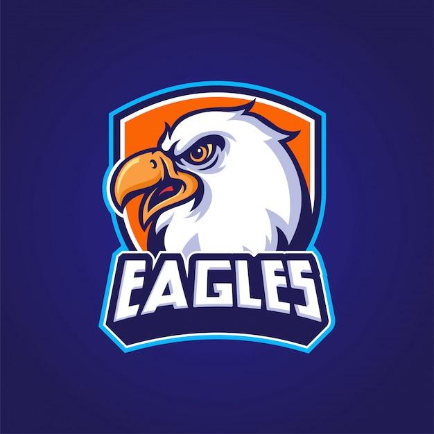 Logo della mascotte dell'aquila