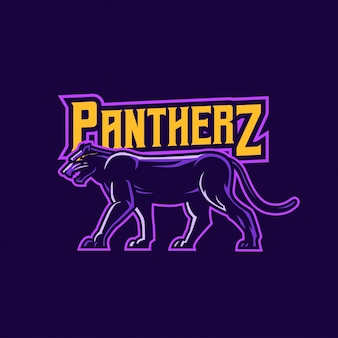 Logo della mascotte pantera