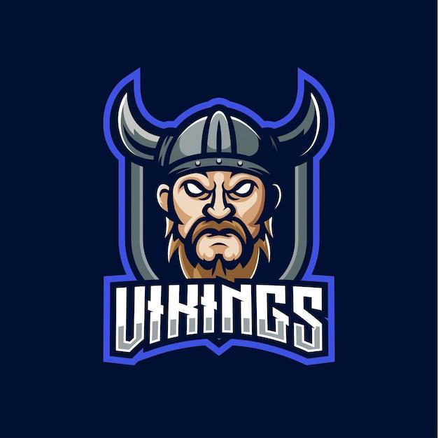 Logo della mascotte vichinga