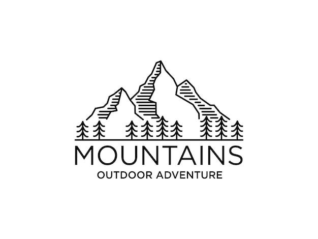 Logo della montagna