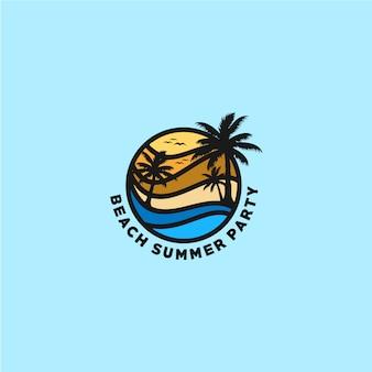 Logo della spiaggia