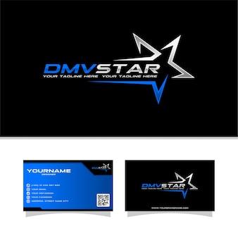 Logo della stella dmv