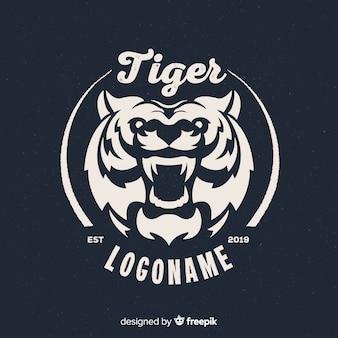 Logo della tigre feroce