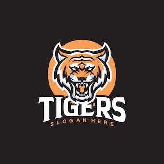 Logo della tigre ruggente