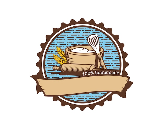 Logo della torta fatta in casa