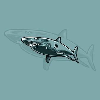 Logo dello squalo