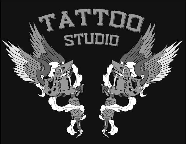 Logo dello studio del tatuaggio