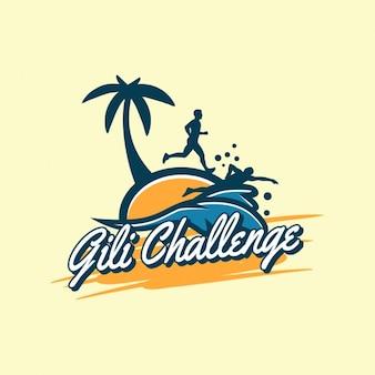Logo design beach