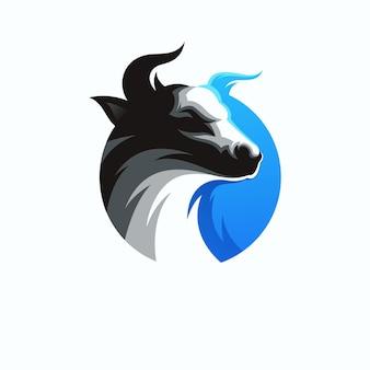 Logo design bull