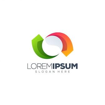 Logo design colorato