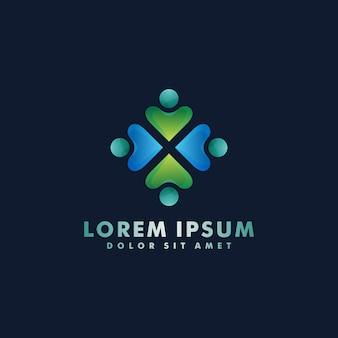 Logo design comunitario