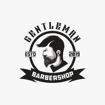 Logo design da barbiere