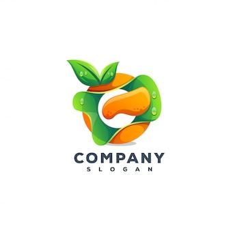 Logo design del succo