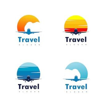 Logo design di viaggio