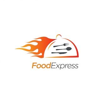 Logo design food express