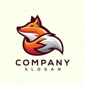 Logo design fox