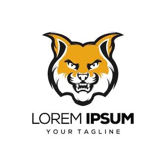 Logo design gatto