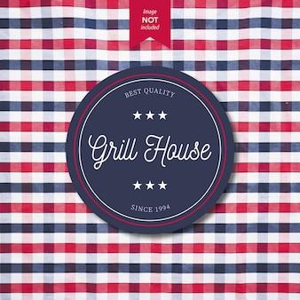 Logo design grill house