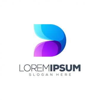 Logo design lettera d.