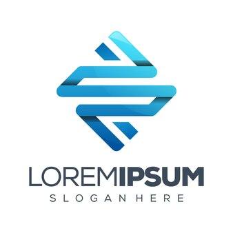 Logo design lettera s
