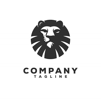 Logo design lion