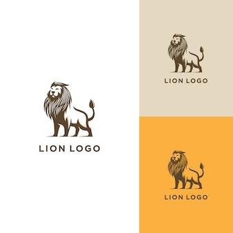 Logo design lion