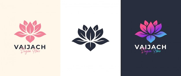 Logo design lotus