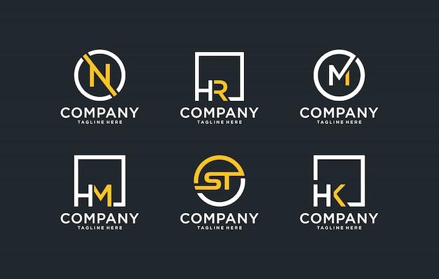 Logo design monogramma