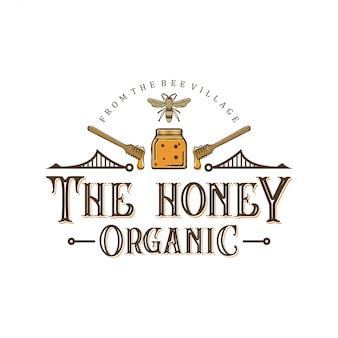 Logo design per prodotti a base di miele o allevamenti di api da miele