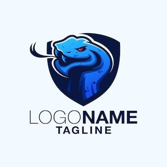 Logo design serpente