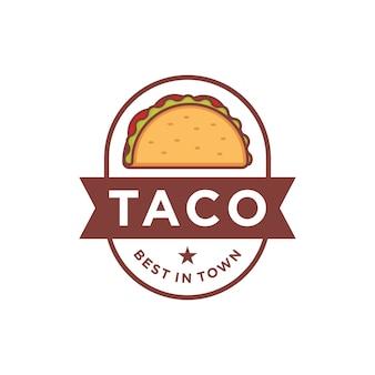 Logo design taco
