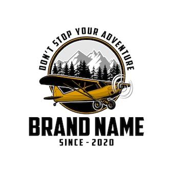 Logo di aereo piano