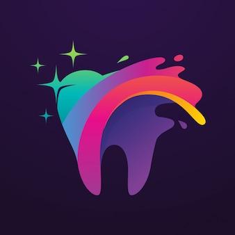 Logo di arte dentale