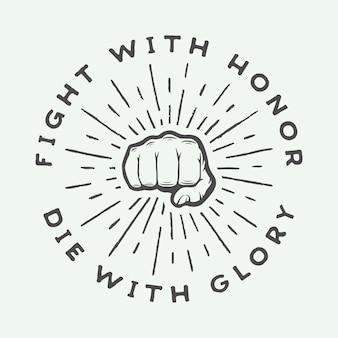 Logo di arti marziali miste