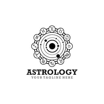 Logo di astrologia