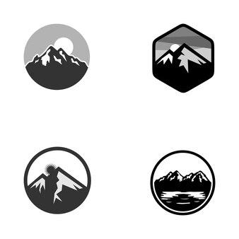 Logo di avventure in montagna e all'aperto