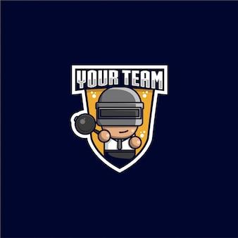 Logo di battaglia sport reale