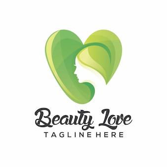 Logo di bellezza amore