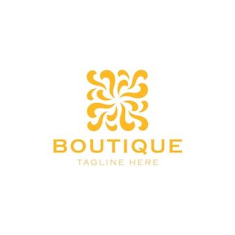 Logo di bellezza astratta
