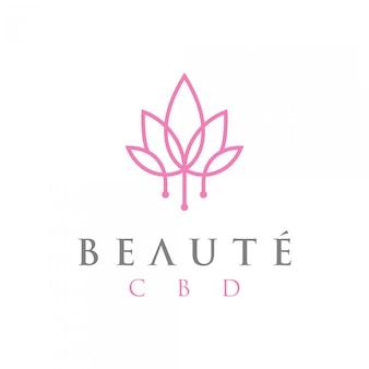 Logo di bellezza premium
