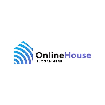 Logo di casa intelligente