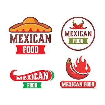 Logo di cibo messicano