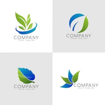 Logo di congedo naturale