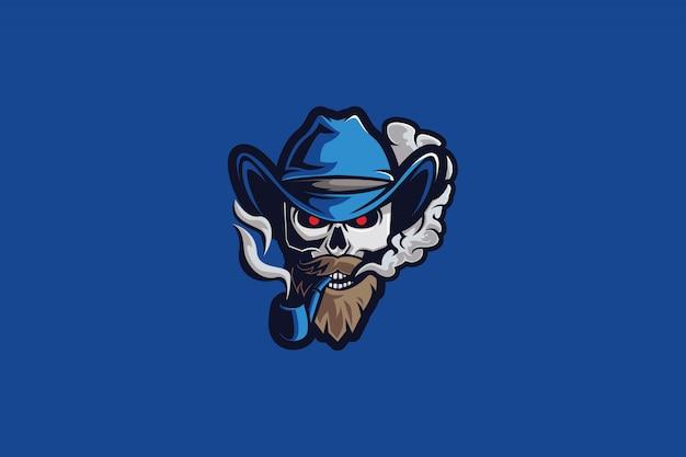 Logo di dead smoke e sports