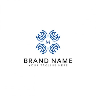 Logo di design floreale