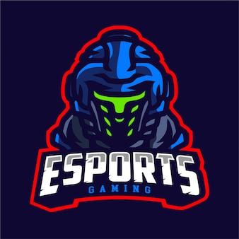 Logo di e-sport del soldato