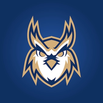Logo di esports del gufo