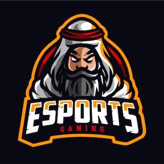 Logo di gioco di sultan esport