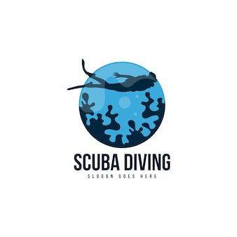 Logo di immersioni subacquee